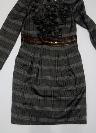 Платье футляр в клетку бюстье футляр 48 размер топ лук скидка распродажа classic tricot2