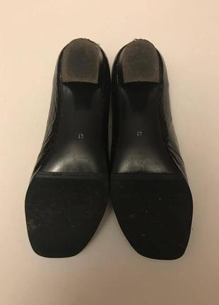Туфли лакированная кожа р. 41, полномерный odri4