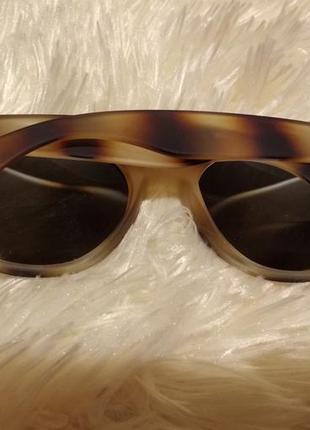 Очки леопардовая оправа2