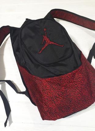 Jordan рюкзак вместительный4 фото