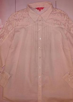Очень красивая рубашка размер 16 (индия 100% котон)1