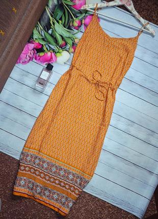 Стильное платье в орнамент1 фото