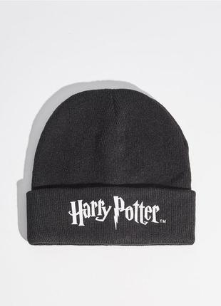 Новая черная шапка sinsay harry potter гарри поттер фильм фанаты фандом фан-клуб1