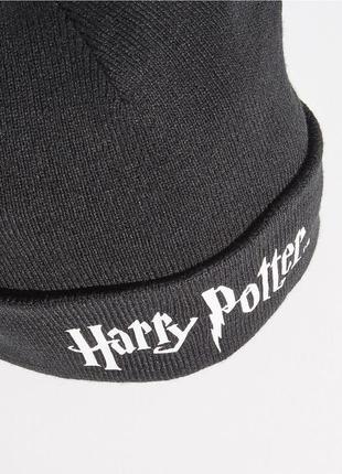 Новая черная шапка sinsay harry potter гарри поттер фильм фанаты фандом фан-клуб2