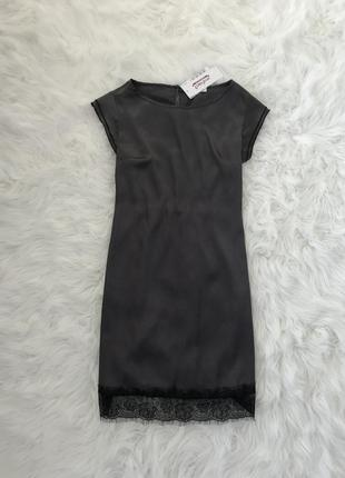 Нежное стильное шелковое платье. s/m.1