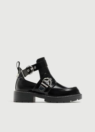 Новые классные ботинки pull&bear {36-40}2