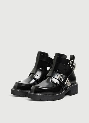 Новые классные ботинки pull&bear {36-40}3