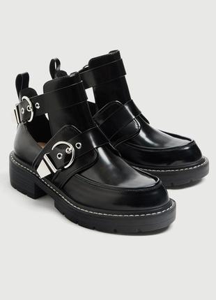 Новые классные ботинки pull&bear {36-40}4