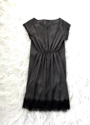 Нежное стильное шелковое платье. s/m.2
