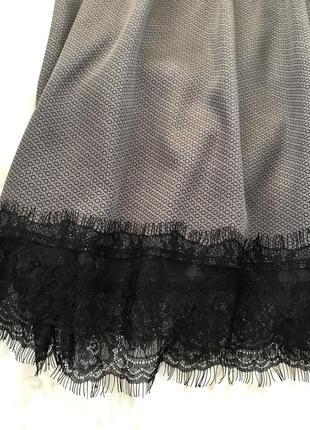 Нежное стильное шелковое платье. s/m.6