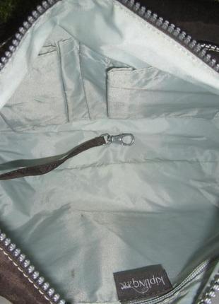Актуальная брендовая сумка датского бренда kipling  нат. кожа5