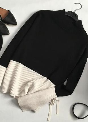 Крутой свитер в стиле колорблок primark1