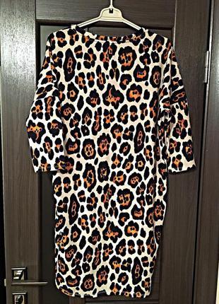 Vero moda новое стильное платье в animal принт3