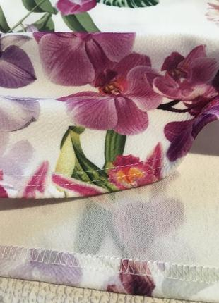 Нарядное платье в цветы4