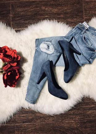 Шикарные кожаные туфли известного бренда1