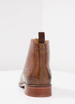 Идеальные кожаные туфли.ботинки.дерби .челси melvin & hamilton6