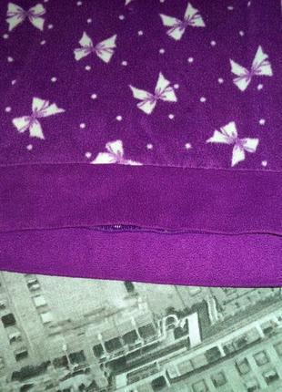 Флисовый свитшот в пижамном стиле с асимметричной длиной.6