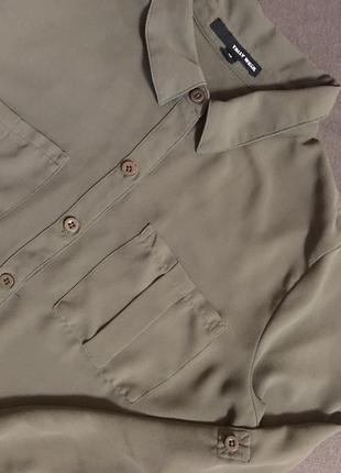 Шифоновая рубашка1