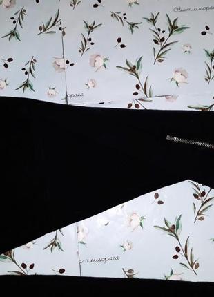 Крутые черные плотные теплые  узкие высокие штаны, размер 48 - 507