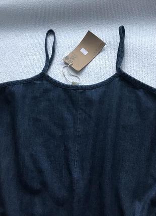Актуальный джинсовый комбинезон3 фото