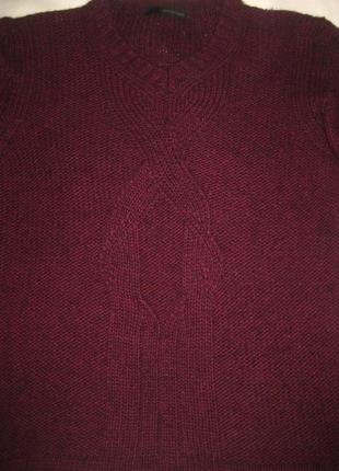 Свободный свитер от calvin klein jeans, марсала3