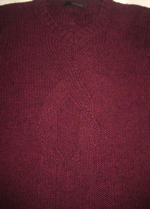 Свободный свитер от calvin klein jeans, марсала6