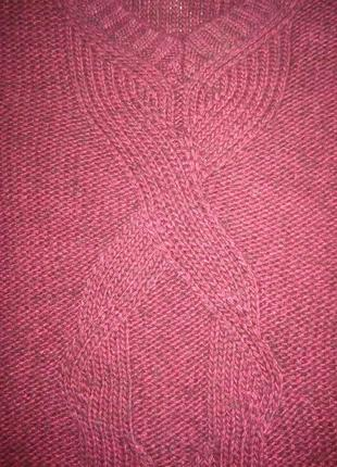 Свободный свитер от calvin klein jeans, марсала8