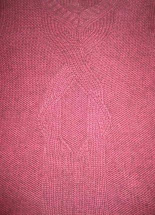 Свободный свитер от calvin klein jeans, марсала9