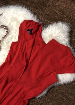 Очень красивое  красное платье5