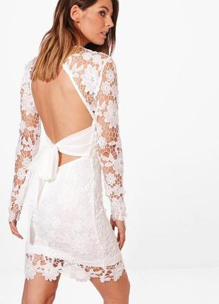 Сукня із мереживом boohoo2