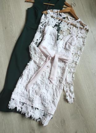 Сукня із мереживом boohoo4