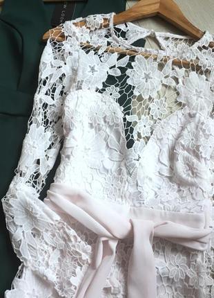 Сукня із мереживом boohoo5