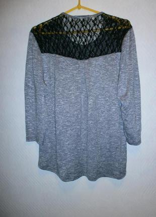Новая трикотажная блуза-52-54р4