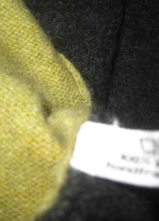 Асиметричный жилет 100% pure new wool4