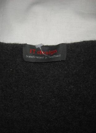 Асиметричный жилет 100% pure new wool5