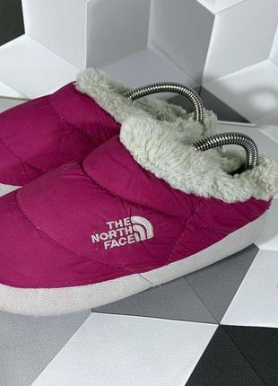 Тапочки the north face slippers xs tnf оригинал