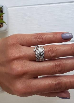 Серебряное кольцо1 фото