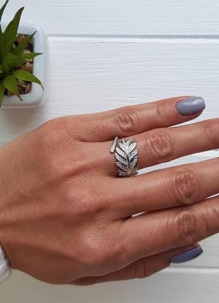 Серебряное кольцо2 фото