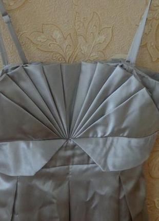 Вечернее платье sasch атласное  на выпускной1 фото