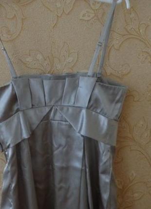 Вечернее платье sasch атласное  на выпускной3 фото