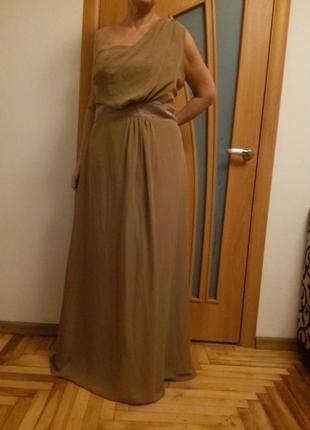 Красивое шифоновое платье в пол. размер 54.1