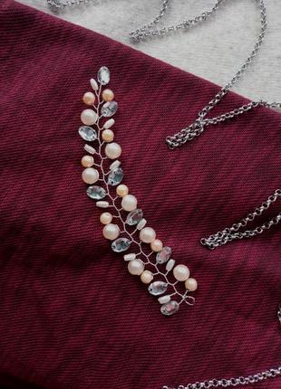 Нежно-персиковый цвет украшения1