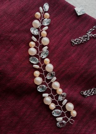Нежно-персиковый цвет украшения2
