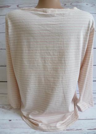 Трикотажная футболка в полоску mira3