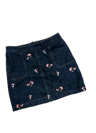 Красивая джинсовая юбка tu1
