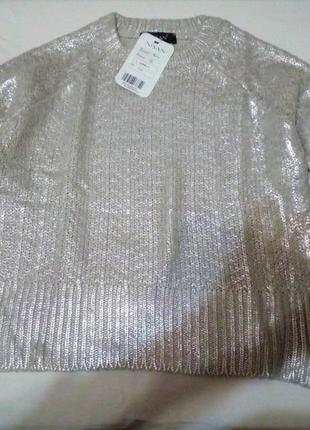 Крутой свитерок с напылением