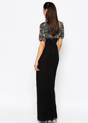Как новое платье asos! расшитое бисером, камнями, стеклярусом!3 фото