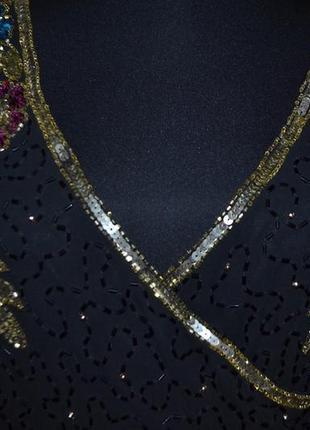 Как новое платье asos! расшитое бисером, камнями, стеклярусом!6 фото