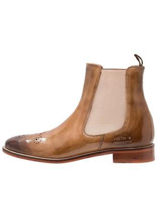 Идеальные кожаные туфли.ботинки.дерби .челси melvin & hamilton4