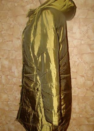 Демисезонная удлиненная стеганая курточка tribune р.443 фото